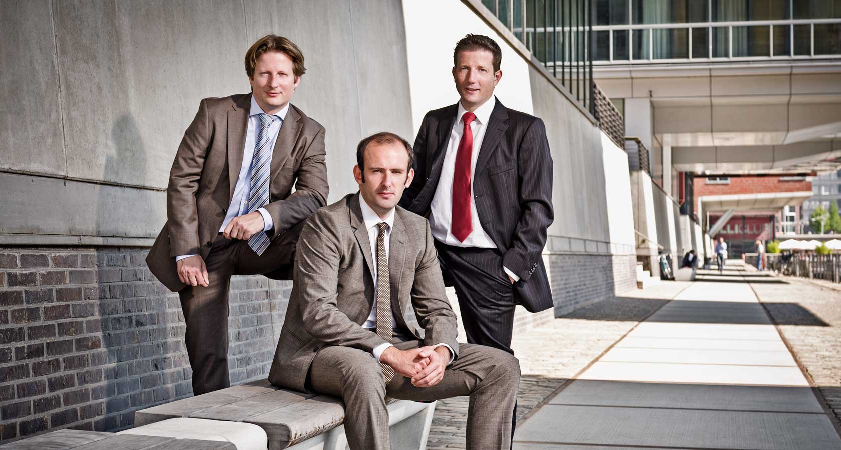 Businessportraits, Businessfotografie - Gruppenaufnahme